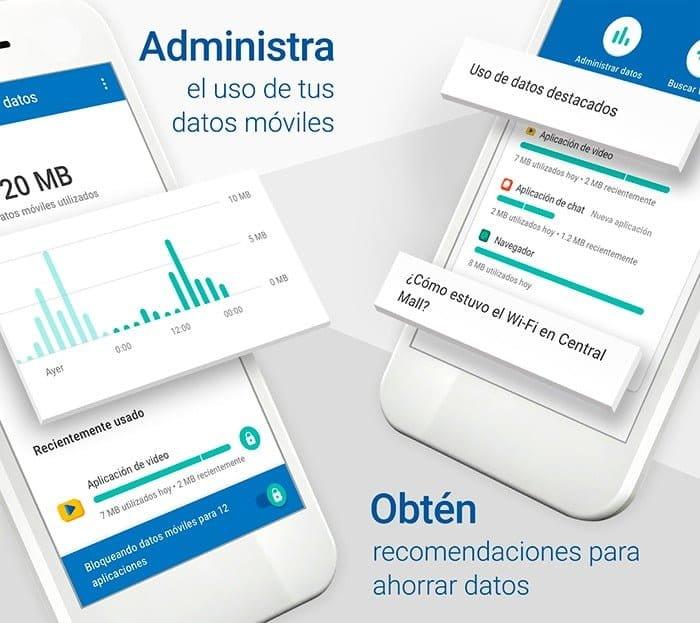 Monitoriza y gestiona el consumo de datos de tu móvil Android con Datally
