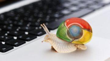 google chrome lento