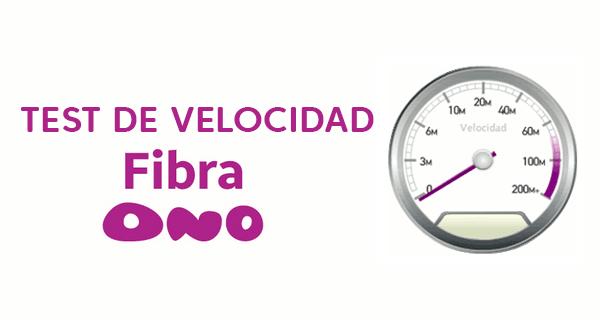 test de velocidad ONO