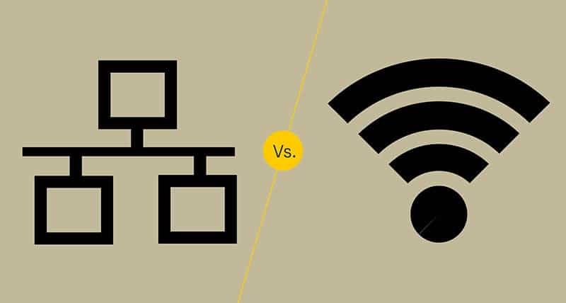 Comparativa WiFi vs Ethernet