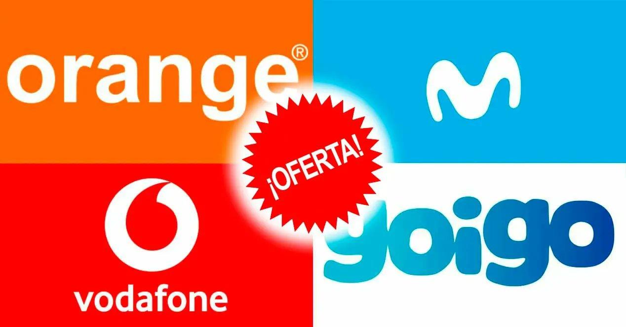 Las mejores tarifas de las principales compañías de teléfono